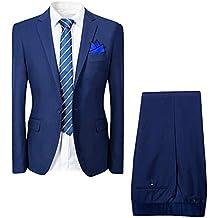 Cloudstyle Traje suit hombre 2 piezas chaqueta chaleco pantalón traje al  estilo occidental 8a6b04fc0dce