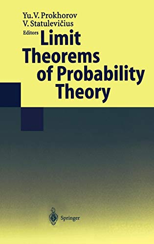 Limit Theorems of Probability Theory (Encyclopaedia of Mathematical Sciences, Band 6)