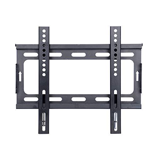 cnyf TV-Wandhalterung Ultra Slim Design für die meisten 35,6cm 106,7cm LCD LED TV Flat Panel Bildschirm Plasma VESA bis zu 200x 200mm mit Schwarz Lcd Flat Panel