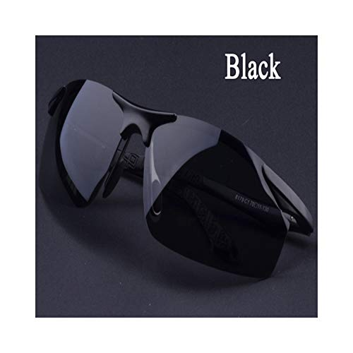 Sportbrillen, Angeln Golfbrille,Men's Driving Polarisiert Sunglasses Fashion Cool Eyewear Male Brand Designer Polaroid Oculos Sun Glasses Black Grey Silver Brown Black