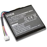 Batterie Li-Ion 1300mAh (3,7V) pour Texas Instruments TI-Nspire CX, TI-Nspire CX CAS. Remplace les batteries 1815 F071D, 3.7L1060SP etc.