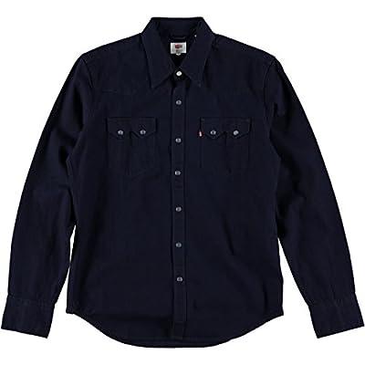 Levis Red Tab Sawtooth Western Shirt Natural Indigo Rinse Denim