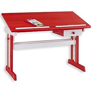 bureau enfant colier flexi r glable en hauteur et. Black Bedroom Furniture Sets. Home Design Ideas