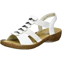 Suchergebnis auf für: rieker sandale weiss damen