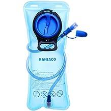 Bolsa de Agua Portátil de 2 Litro, RANIACO Bolsa de Agua Deportiva para Usos en Espacios Exteriores