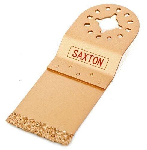 Saxton Klingen 35 mm, Hartmetall-End-Cut Sägeblatt Fein Multimaster Bosch Makita Milwaukee Pendelndes Multitool