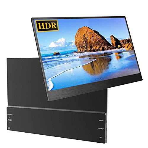 13,3 Zoll Portable Gaming Monitor HDR IPS UPERFECT 1920X1080 FHD Tragbarer Ultradünner Display Bildschirm Typ-C Stromversorgung für PS3 / PS4 / X-Box/Raspberry Pi/PC/Mac 13.3 Display