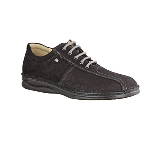 Finn Comfort Dijon 516099, Scarpe stringate uomo nero nero Nero
