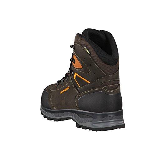Lowa Hommes Bottes de trekking LAVAREDO GTX 210722 - schiefer/orange