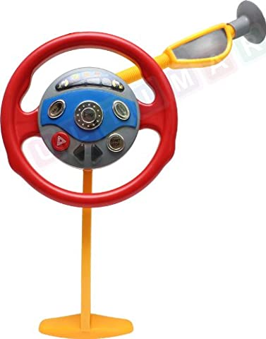 Steering wheel - Backseat Driver Toy - My First Steering Wheel - Steering wheel toy for car seat