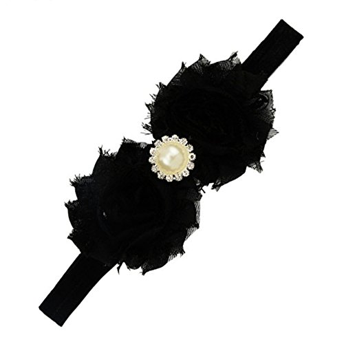 Sanwood Baby Girl Rhinestone Flower Headband Headdress