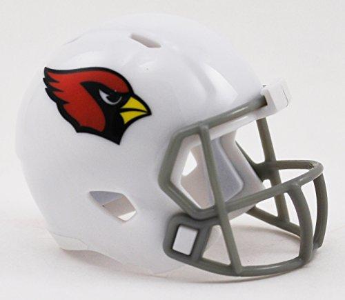 Riddell Mini-American-Football-Helm, NFL-Team: Arizona Cardinals, im Taschenformat, Speed Pocket