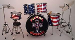 RGM339 Guns N Roses Miniature Drum Kit
