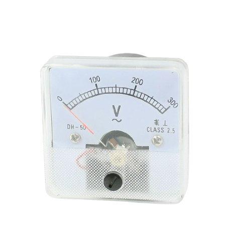 AC 0-300 V Finetuning Square Dial Analog Voltage Panel Meter Voltmeter -