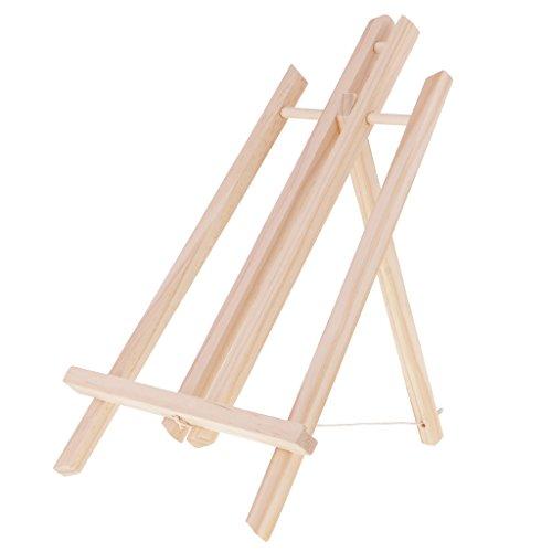 Baoblaze Holz Display Staffelei / Sitzstaffelei für Malen Basteln Zeichnen Bilder (Tabletop-foto-staffelei)