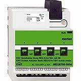 Merten KNX Schaltaktor Basic REG-K/4x/16 A mit Handbetätigung, lichtgrau, MEG6700-0004