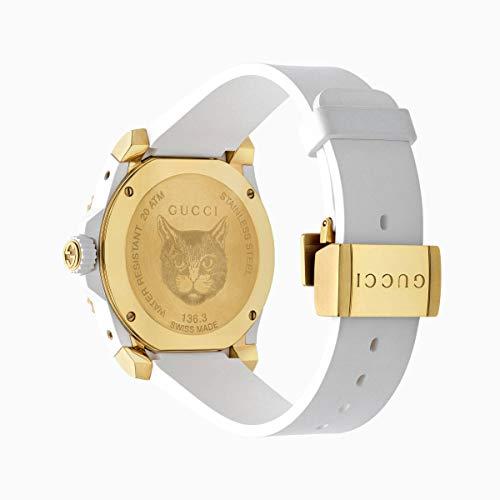 Imagen de gucci reloj de buceo cauuciu carcasa blanca con pvd con oro amarillo ya136322 alternativa