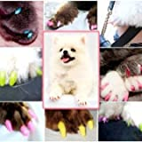 S de tamaño de Multi-colour soft-perro de mascota-sombreros de la marca Claw Contril la pata de camino