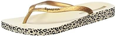 Ipanema Impresso, Women's Flip Flop, Gold (Leopard), 3 UK (36 EU)
