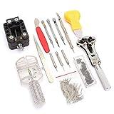 Morza 144 PC-Uhr-Reparatur-Kit Armbanduhr Reparatur-Werkzeug-Satz Federstegwerkzeug Band Verbindungpin-Remover