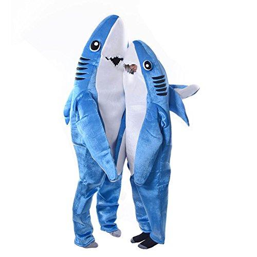 Valigrate Mode Erwachsene Kinder Overall Cosplay Kostüm Shark Bühne Kleidung Kostüm Halloween Weihnachten Requisiten