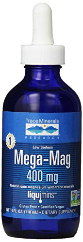 Trace Minerals Research Mega-MAG  magnezyum Spurenelementen 400 MG 118 ml