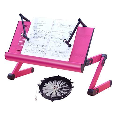 Multifunktionshalterung Aluminium Klapptisch Schreibtisch (Color : Fan models)