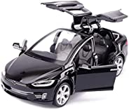 Car Model Simulation Sports Car Sound And Light Music Back To The Alloy Car Toy Car 1:32 Tesla Model X
