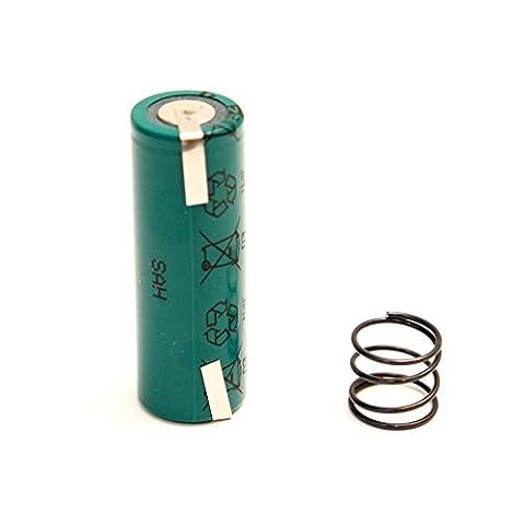 Ersatzakku mit Einbau-Anleitung 2800 mAh + Feder - für alle ALTEN OralB Triumph MIT DISPLAY!!! 4000 5000 5500 7000 8000 8300 8500 8900 9000 9500 9900 - Batterie Battery Akku Modell-Nr: 3731 3738 3745