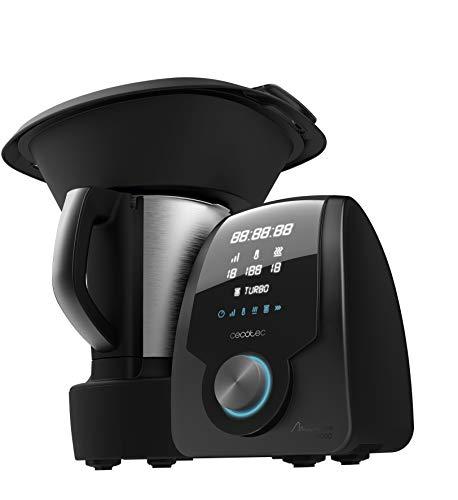 Cecotec Robot de Cocina Multifunción Mambo 8090. Capacidad 3,3L, Cuchara MamboMix, 30 Funciones, Báscula...