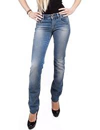 John Galliano Damen Jeans Slim 34VR7010-68034 Blau
