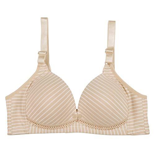 QYYDNY Still-BH Still-BH Verhindert EIN Durchhängen bei Schwangeren Unterwäsche Still-BH 40 Elfenbein - Elfenbein Öse Spitze