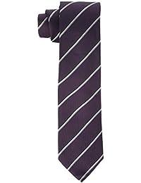 Mens Slim 6.4 cm Neck Tie, Blue (Navy 411), One Size Calvin Klein