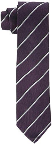Calvin Klein Herren Slim 6.4 Cm Krawatte, Rot (Burgundy 605), One size