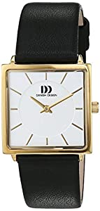 Danish design mujeres-reloj analógico de cuarzo de cuero 3320211 de Danish Design
