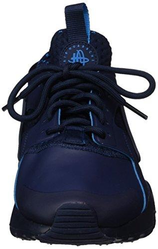 Nike Air Huarache Run Ultra Se, Chaussures de Gymnastique Homme Bleu (Obsidian/lt Blue Lacquer/obsidian)