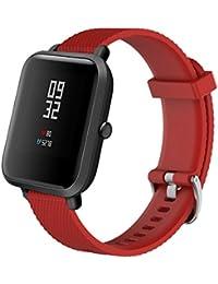 Fossrn para Xiaomi Huami Amazfit Bip Youth Watch Deporte Suave Silicona Accesorios Reloj Banda Wirstband para