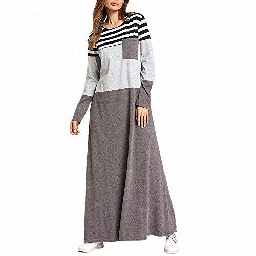 FeiXing158 Dress o Neck frühjahr Taschen Casual Frauen Dress-in Kleider von