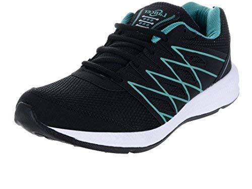 Lancer Men's Black Green Running Shoes-7 (HYDRA-46-BLK-GRN-7)