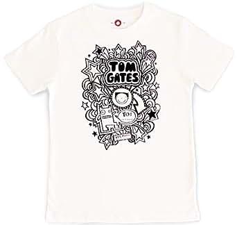 "Tom Gates ""Yo!"" Kids Childrens Short Sleeve T-Shirt 7-8 Years"