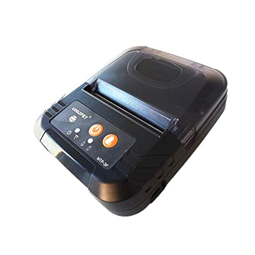 LLDHWX 80MM USB Thermal Receipt Printer, Mini Portable Label Printer, for  iOS and Android Systems,Compatible with ESC/POS /Star Print Commands Set