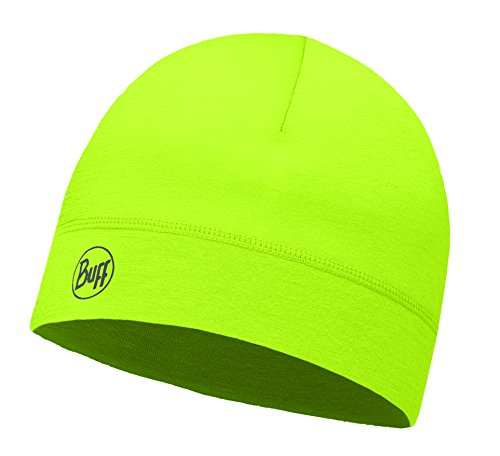 Buff Thermonet Hat Mütze, Solid Yellow Fluor, One Size