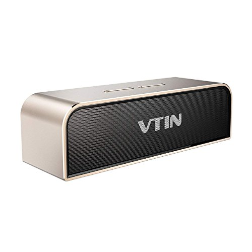 Vtin Royaler Altavoz Bluetooth, 20W Salida de Dual 10W Drivers con Radiador Pasivo, Subwoofer, Graves Profundos Para HUAWEI, XIAOMI, IPHONE, SONY etc
