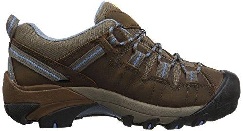 KEEN Women's Targhee II WP Hiking Shoe,Dark Earth/Allure,10 M US Dark Earth/Allure