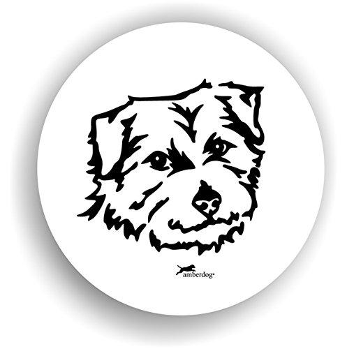 Hunde Norfolk Terrier Sticker Auto Aufkleber Art.STK0235 Autoaufkleber Aufkleber Wohnmobil Wohnwagen amberdog