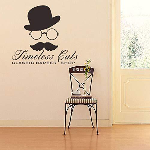 Wandaufkleber persönlichkeit hut brille bart vinyl wandtattoo wohnkultur wohnzimmer schlafzimmer diy kunst tapete entfernbare wandaufkleber (Arabische Bart)