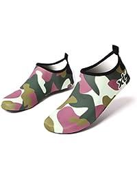 DoGeek Zapatos de Niño Zapatos de Agua de Natación Niños Zapatos de Niños Descalzo Aqua Calcetines para la Piscina de Playa Surf Yoga…