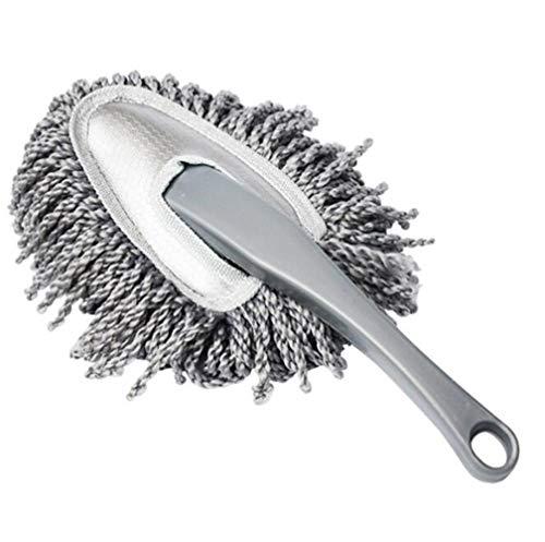 XH Shop Car wash mop Autowaschbürsten-Reinigungsauto des kleinen Wachsmops grau, das Automoppreinigungszubehör abstaubt Wash Mop
