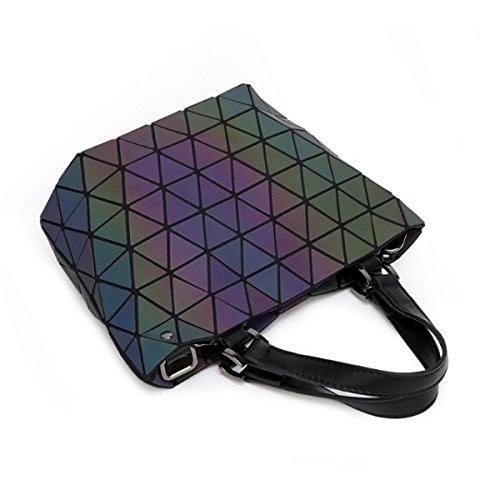 Frauen Geometrische Art Und Weise Schultertasche Handtasche B