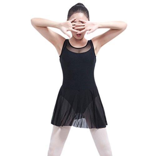 (YiLianDaD Erwachsene Ballett Rock Gymnastik Kostüm Ballettanzug Ballett Trikots)